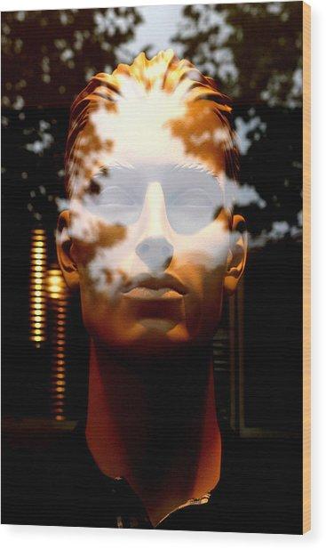 Dwayne Wood Print by Jez C Self