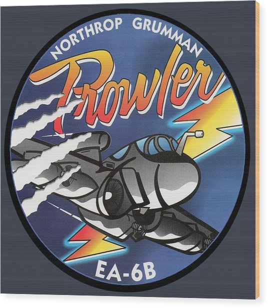 Ea-6b Prowler Wood Print