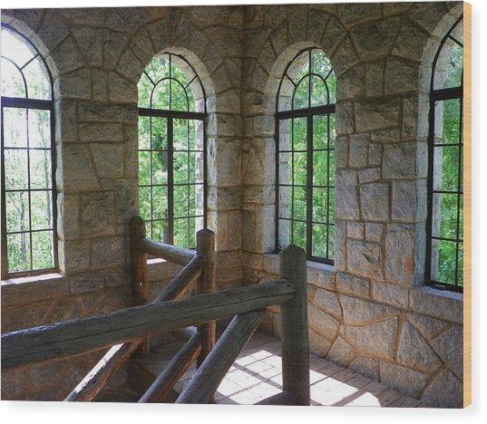 Eagel Rock View Wood Print