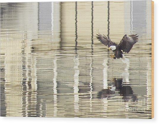 Eagle Abstract Wood Print