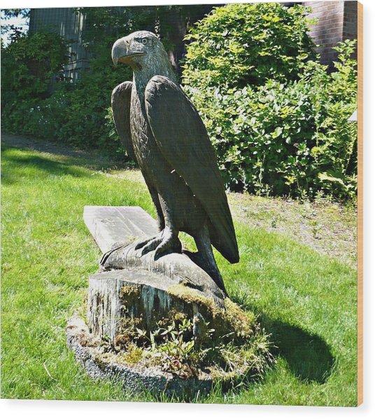 Eagle Totem Wood Print