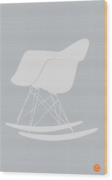 Eames Rocking Chair Wood Print