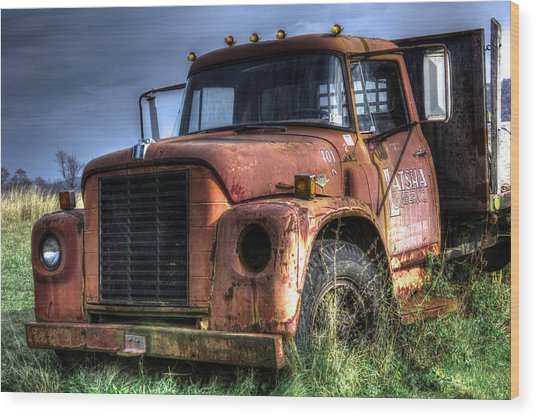 Earl Latsha Lumber Company Version 3 Wood Print