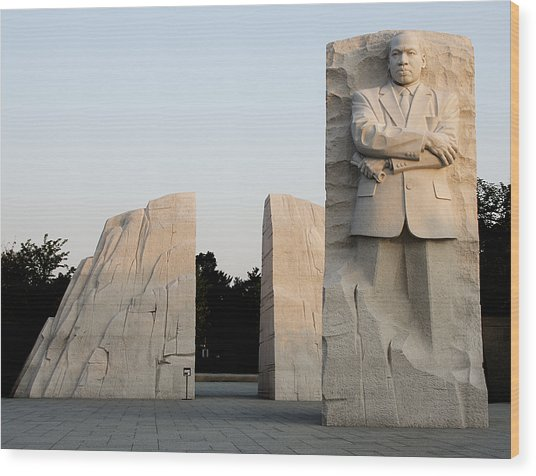 Early Morning At The Martin Luther King Jr Memorial Washington Dc