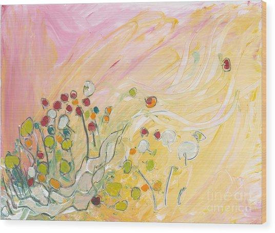 Early Summer Winds Wood Print by Christine Alfery
