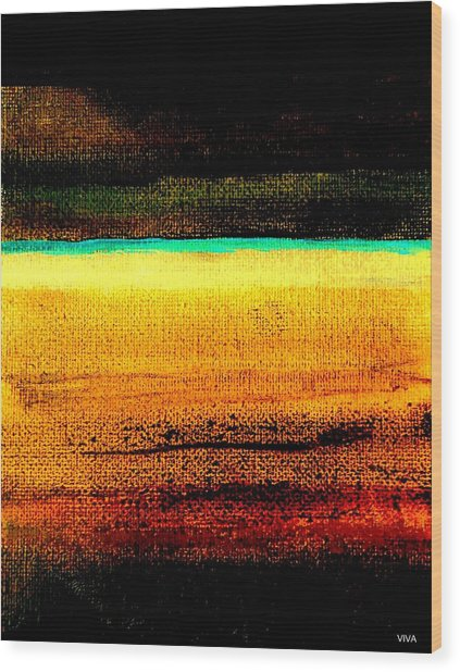 Earth Stories Abstract Wood Print