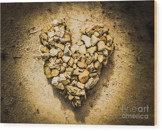 Earthly Togetherness Wood Print