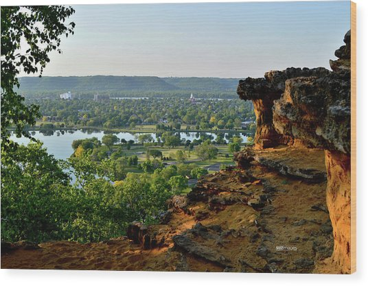 East Lake Winona Wood Print