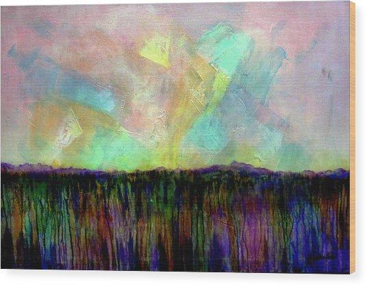 Easter Daybreak - Art By Jim Whalen Wood Print