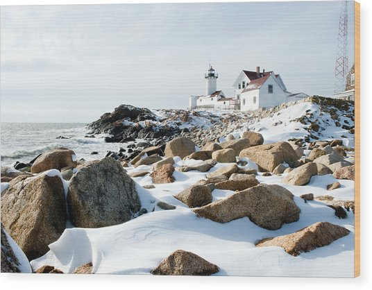 Eastern Point Light II Wood Print