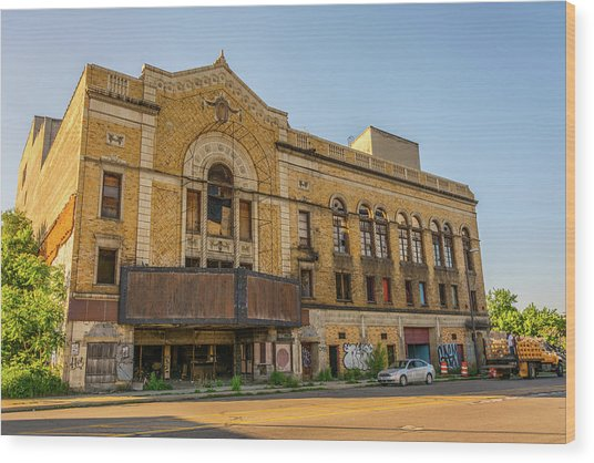 Eastown Theater  Wood Print