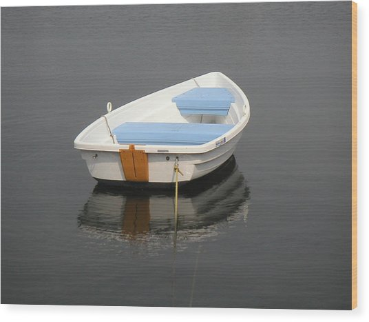 Easy Street Boat Basin Nantucket Ma Wood Print