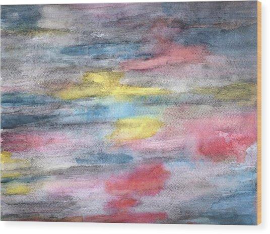 Ebony Rainbow Wood Print