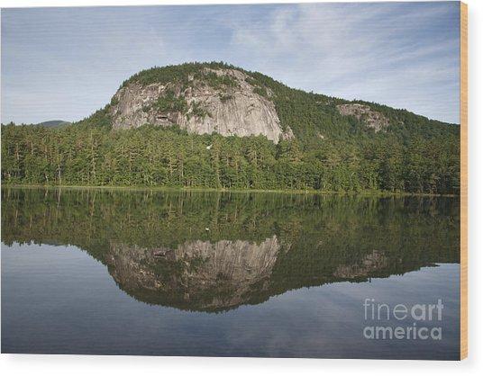 Echo Lake State Park - North Conway  New Hampshire Usa Wood Print