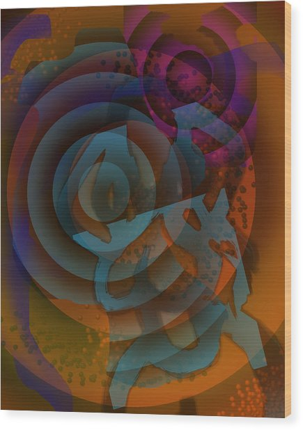 Eclectic Soul Zone Wood Print