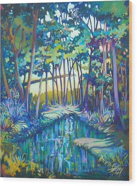 Eden Wood Print