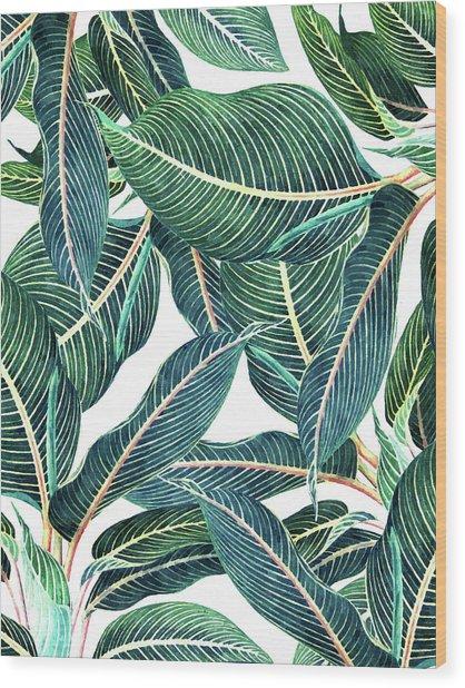 Edge And Dance Wood Print