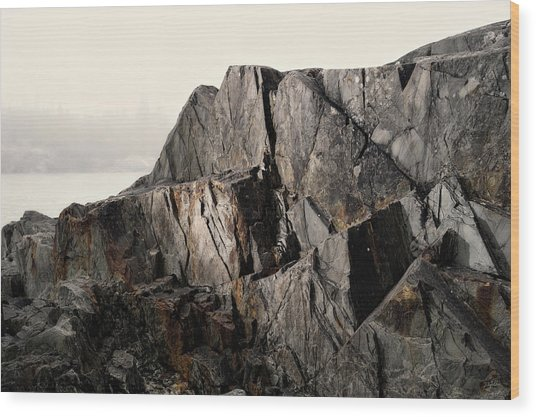 Wood Print featuring the photograph Edge Of Pukaskwa by Doug Gibbons