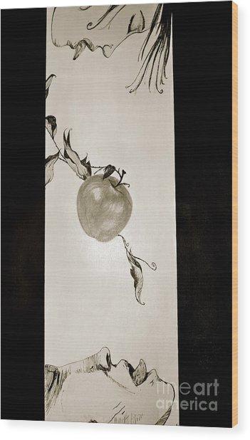 Edginggodout Wood Print by Sone Keila