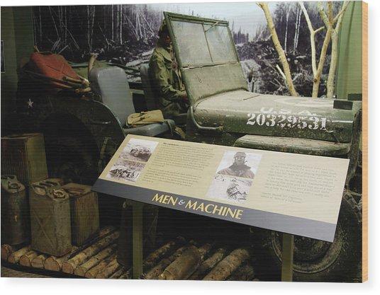 Editorial Alaska Military Highway Wood Print by Robert Braley