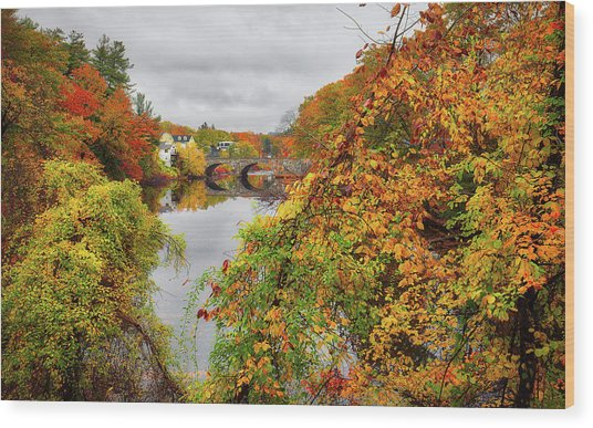 Edna Dean Proctor Bridge Wood Print