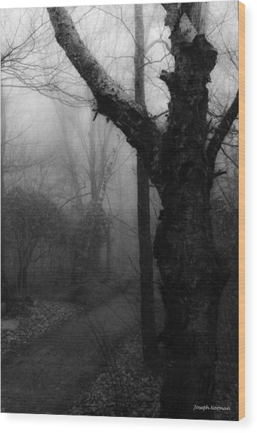 Eerie Stillness Wood Print