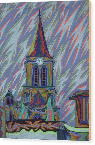 Eglise Onze - Onze Wood Print