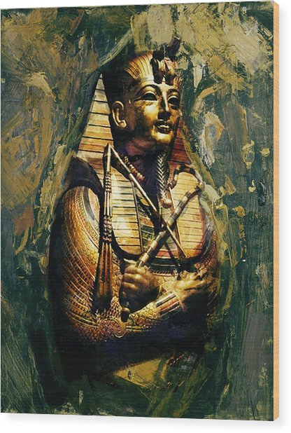 Egyptian Culture 3b Wood Print