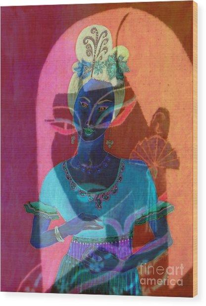 Egyptian Queen Wood Print
