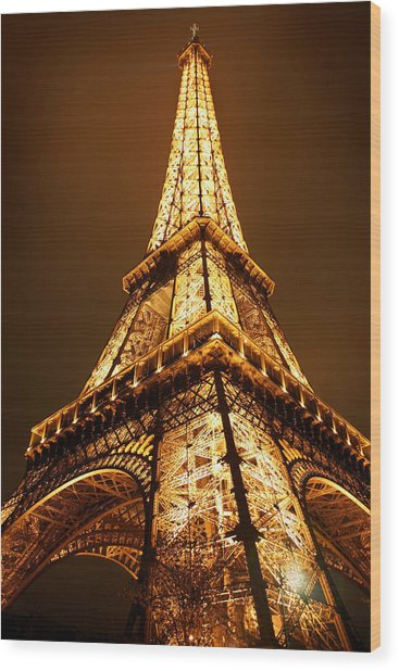 Wood Print featuring the photograph Eiffel by Skip Hunt