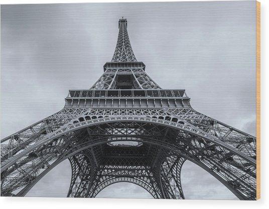 Eiffel Tower 3 Wood Print