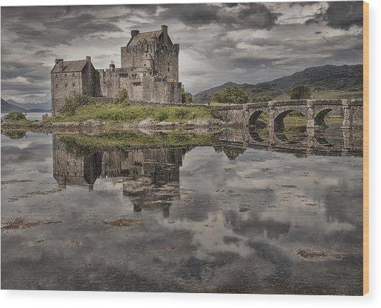 Eilean Donan Castle 3 Wood Print
