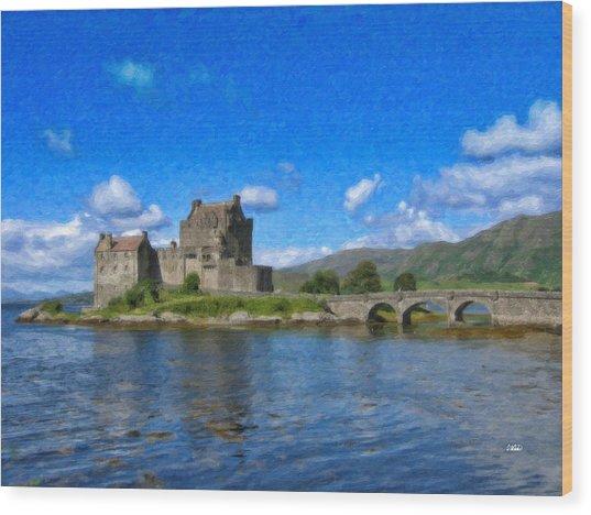 Eilean Donan Castle - Sct671252 Wood Print