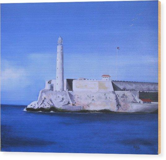 El Morro Havana Cuba Wood Print