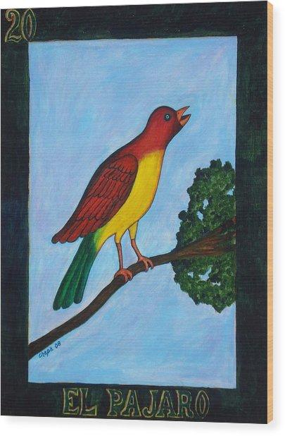 El Pajaro Wood Print