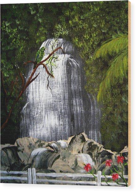 El Yunque  Wood Print