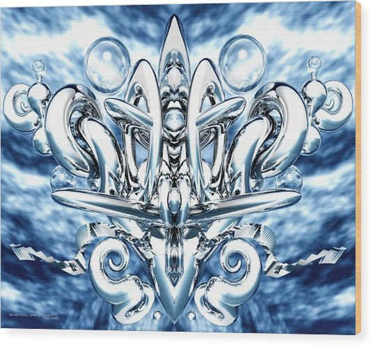 Elation Wood Print by Dreamlight  Creations