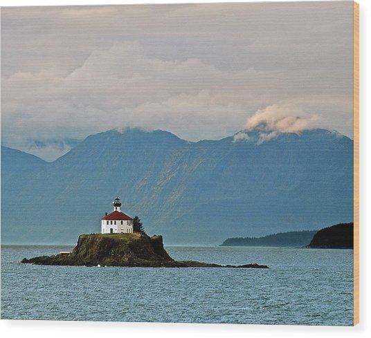 Eldred Rock Lighthouse Skagway Wood Print