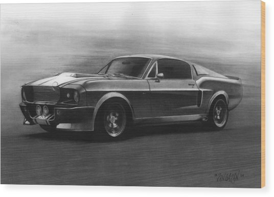 Eleanor  Gt 500 Wood Print