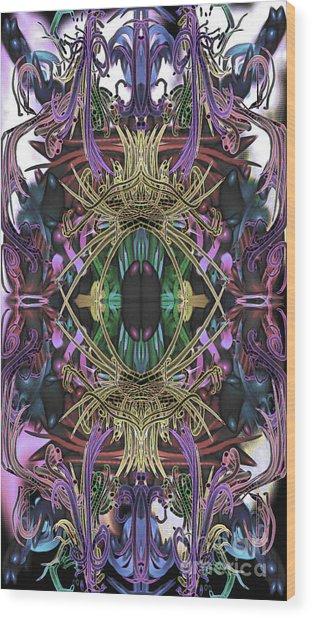 Electric Eye 2 Wood Print