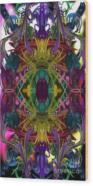 Electric Eye Wood Print