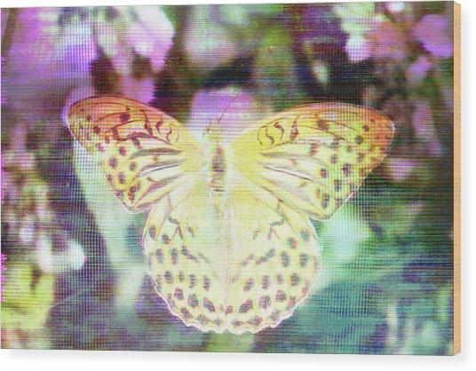 Electronic Wildlife  Wood Print