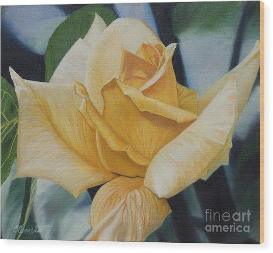 Elegant Beauty Wood Print