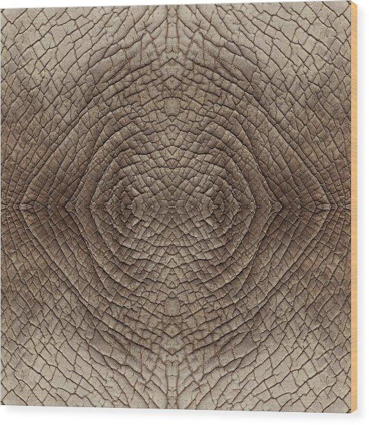 Elephant Skin Wood Print