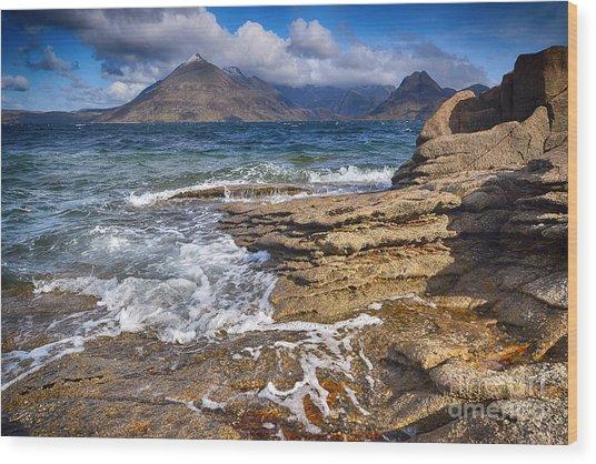 Elgol, Isle Of Skye Wood Print