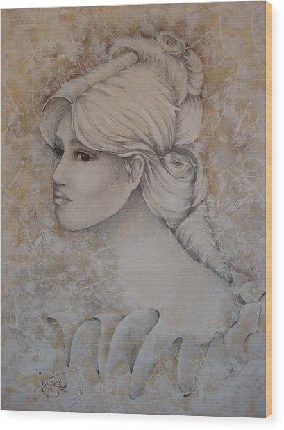 Elizabeth Wood Print by Paula Weber