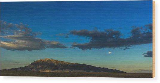 Elk Mountain Wood Print