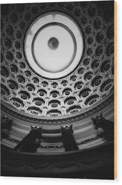 Elks National Veterans Memorial Rotunda Wood Print
