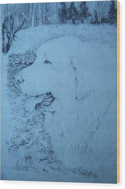 Ellie Wood Print by Ken Day