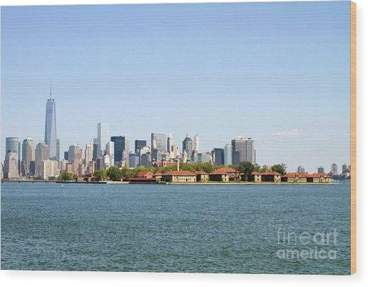 Ellis Island New York City Wood Print